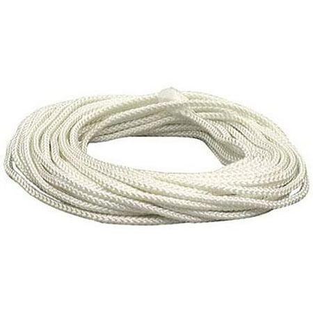 Lehigh White Diamond Braid Nylon Rope, 3/16 x 50 ()