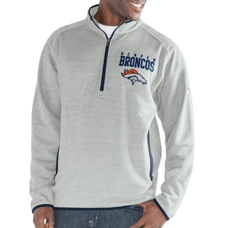 "Denver Broncos G-III NFL ""Deep Out"" 1/4 Zip Premium Men"