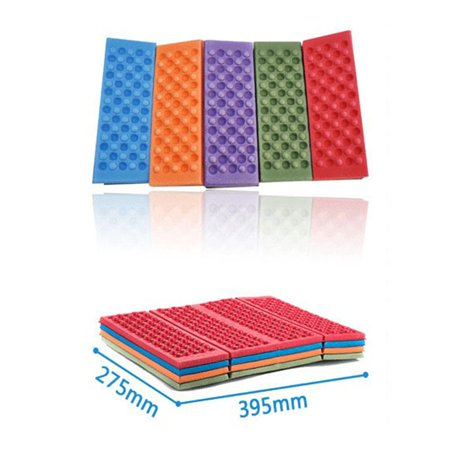 Random Color XPE Outdoor Camping Hiking Picnic Folding Cushion Seat Pad Moistureproof Cushion Mattress Pad - image 2 of 9