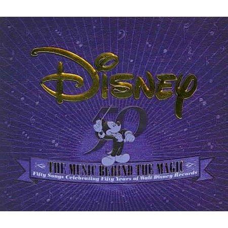Disney Halloween Music Cd (Disney: The Music Behind the Magic / Various)