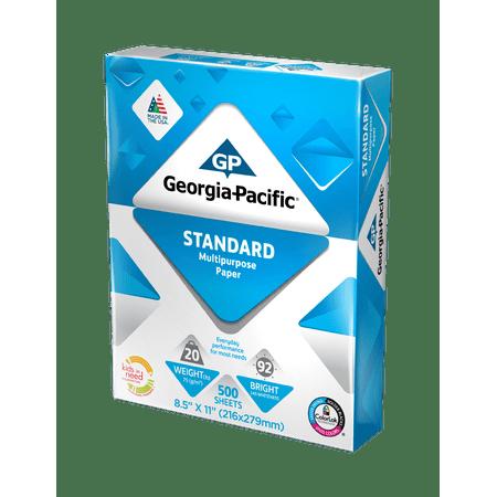 - Georgia-Pacific Standard Paper 8.5