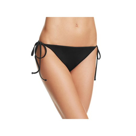 (Milly Womens Solid Side Tie Swim Bottom Separates)