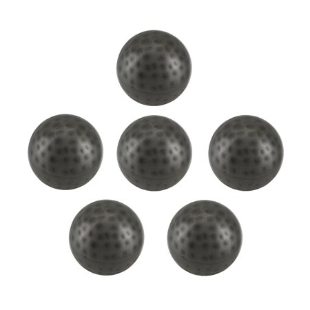 Silver Balls Decor (6 Piece Antique Silver Finish Dimpled Metal Decor Ball Set 3)
