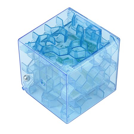 Outtop 3D Cube Puzzle Money Maze Bank Saving Coin Collection Case Box Fun Brain Game