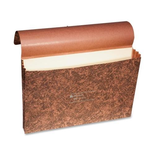 "L8224 Wilson Jones Expanding Wallet without Tie Cord - 10"" Width x 15"" Length Sheet Size - 3.50"" Expansion - 1 Each"