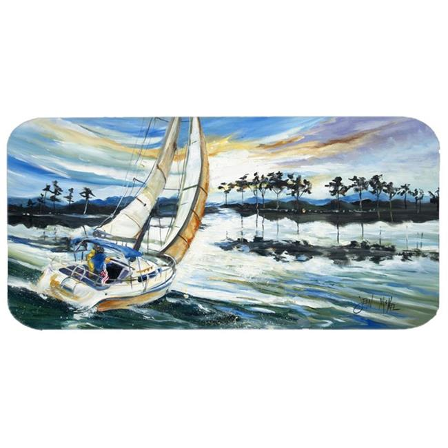 Caroline's Treasures Sailboats Lake Martin Kitchen or Bat...