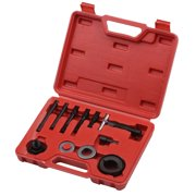 12Pcs Steering Wheel Pulley Puller and Installer Kit Power Steering Pump Pulley Removal and Installaltion Tool Replacement for Buick