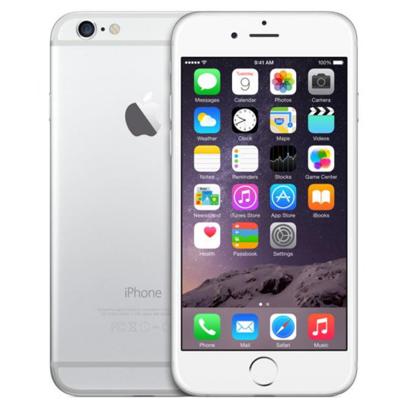 Refurbished Apple iPhone 6 16GB, Silver - Sprint