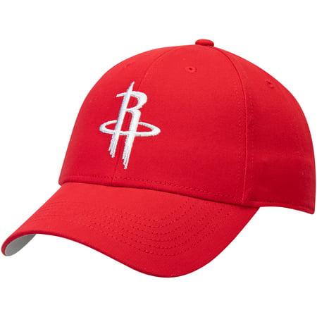 Men's Red Houston Rockets Mass Basic Adjustable Hat - OSFA