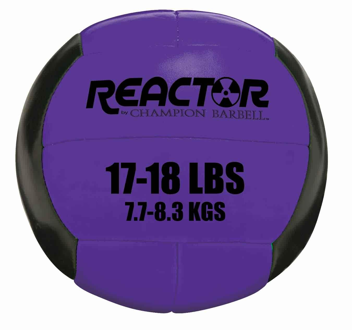 Champion Barbell™ Medicine Ball 17-18 lb. - Purple