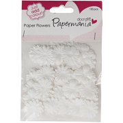 Papermania Paper Flowers, Assorted, 120pk