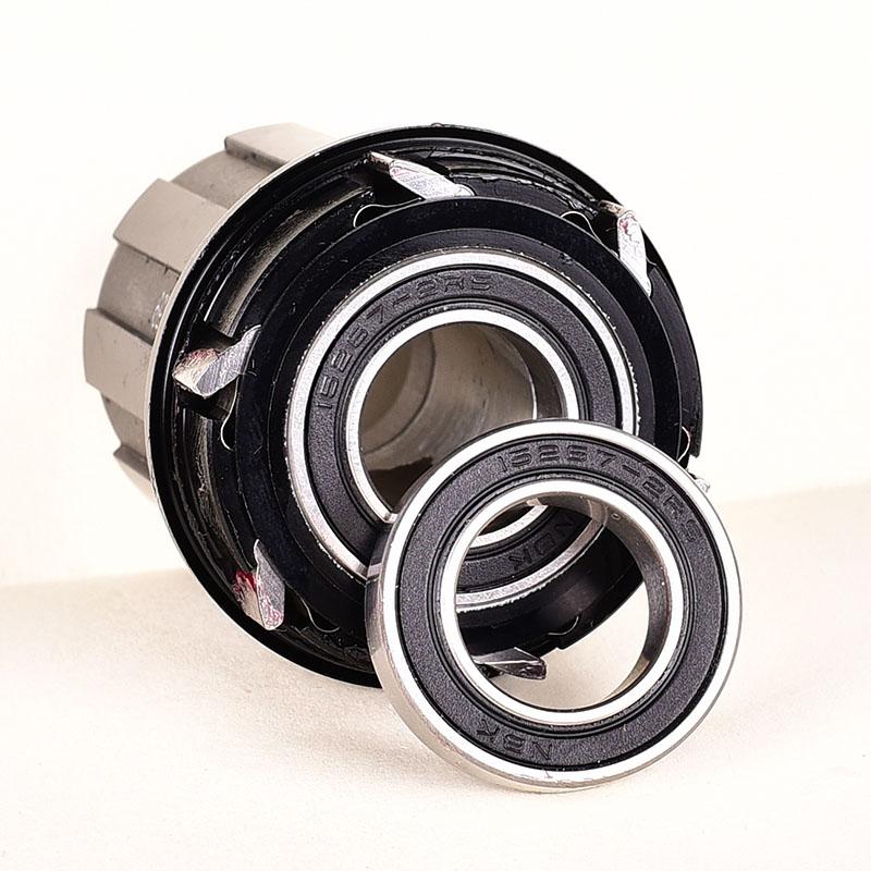 15267-2RS 2pcs Bicycle Bike Metal Hub Hybrid Ceramic Bearing For KOOZER Hubs