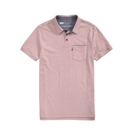 Levi's Mens Pocket Rugby Polo Shirt pink M | Walmart Canada