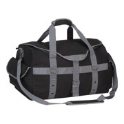 "Preferred Nation P4688 Expresso Canvas Duffle  20"" x 12"" x 11"""