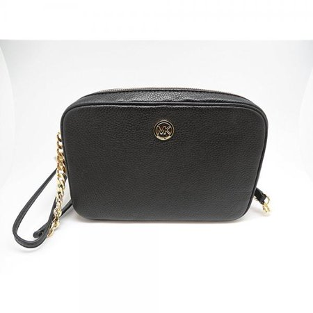 9e149f0b9328 Michael Kors - MICHAEL Michael Kors Fulton Large East West Leather Crossbody  Bag in Black - Walmart.com