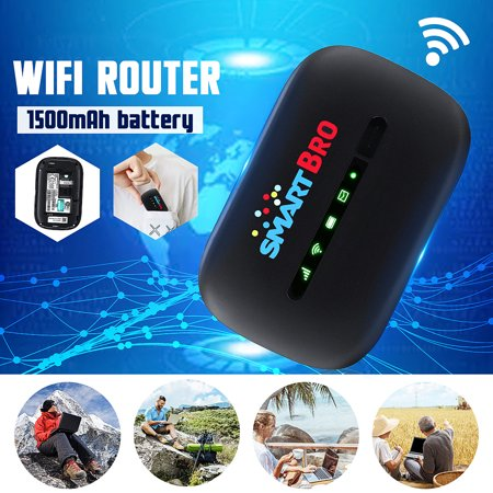 3G Wireless Router Hotspot Portable WIfi Modem LCD Display 802.11 b/g/n Wifi Support 10 Devices User for Car Mobile Camping Travel Meeting