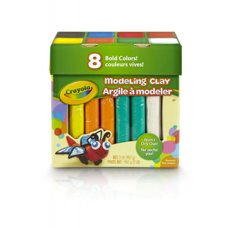 Crayola Assorted 4 Ounce Modeling Clay  Jumbo Pack