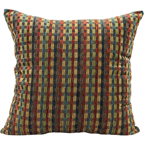 "Better Homes and Gardens 22"" Multi Rectangles Decorative Pillow"