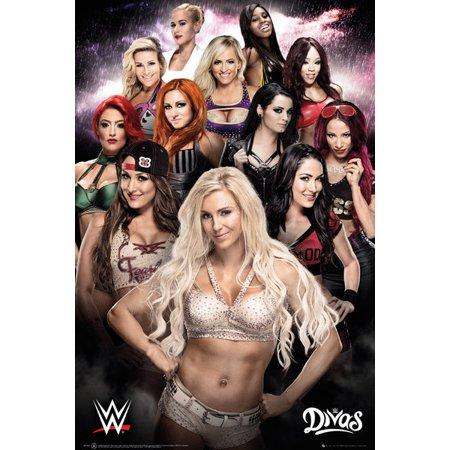 Wwe Rey Mysterio Poster (Wwe Divas Poster Print (24 x)