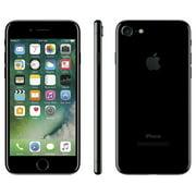 Refurbished Apple iPhone 7 128GB, Jet Black - Locked AT&T