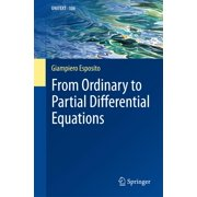 From Ordinary to Partial Differential Equations - eBook