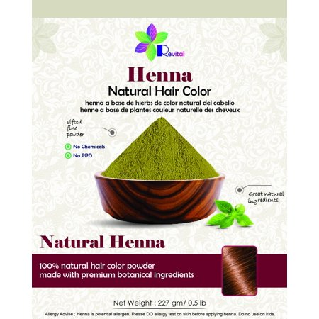 Revital 100 Pure Natural Henna Powder For Hair Dye Color 0 5