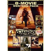8-Movie Western Pack: Massacre Time   Holy Water Joe   Some Dollars For Django   Little Rita   Sartana Is Coming  ... by ECHO BRIDGE ENTERTAINMENT