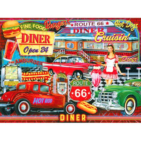 Kodak 1000 Piece Premium Puzzle of 50's Diner](50 Piece Puzzles)