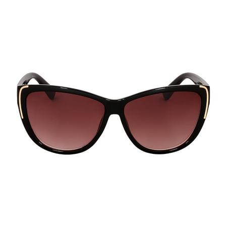 Kenneth Cole Reaction Plastic Frame Gradient Smoke Lens Ladies Sunglasses (Oakley 1 Day Sale)