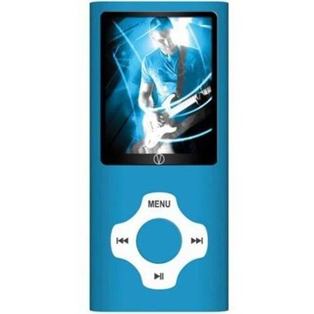 Visual Land Rave 8GB MP3 Player with Camera and In-Ear Headphones Combo, Black
