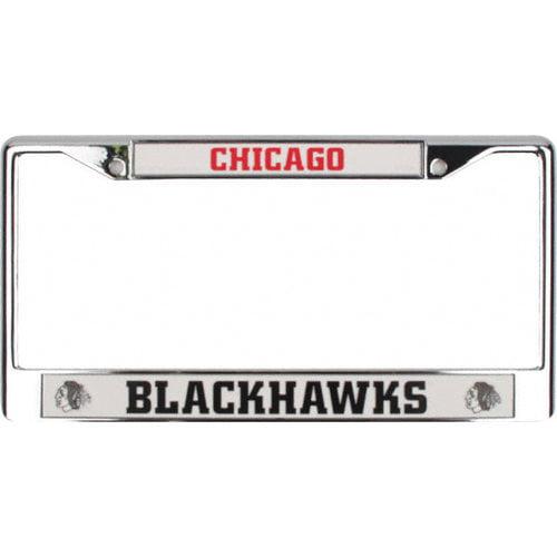 NHL - Chicago Blackhawks Chrome License Plate Frame