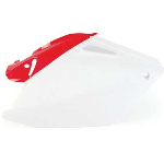 Acerbis 2043311030 side panels (white/red)