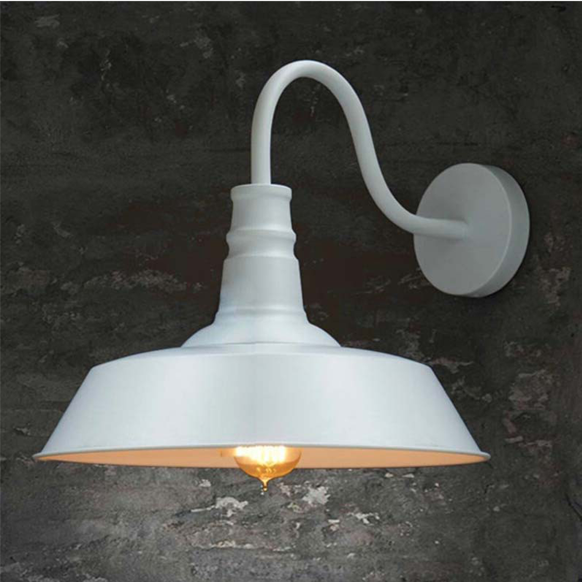 Vintage Wall Sconce Light Industrial, Antique White Bathroom Vanity Lights