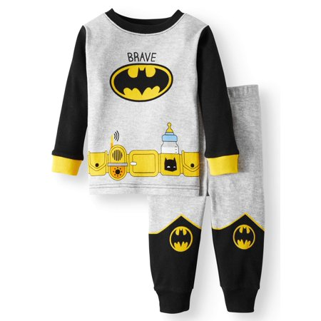 Cotton Tight Fit Pajamas, 2-piece Set (Baby Boys)