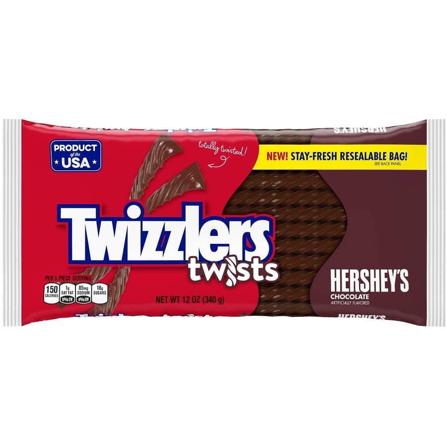 Twizzlers Chocolate Twists, 12 oz