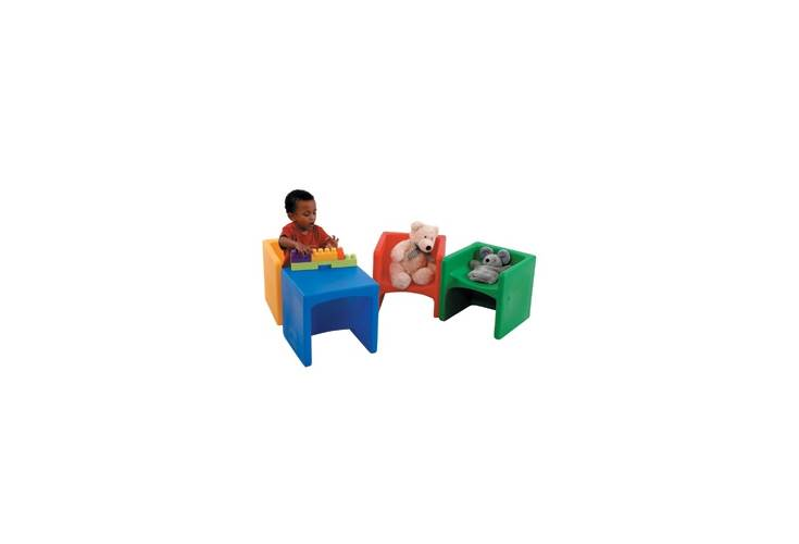 Cube Kids Chair   Set Of 4