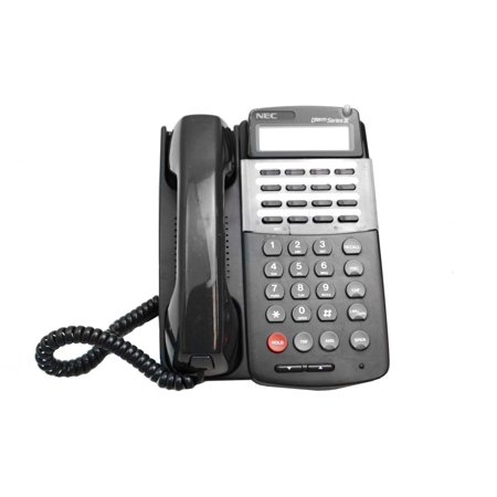 570011 ETJ-16DC-1(BK) NEC Dterm Series III 16 Button LCD Display Office Speaker Phone Networking Phones / Telephones - Used Very -