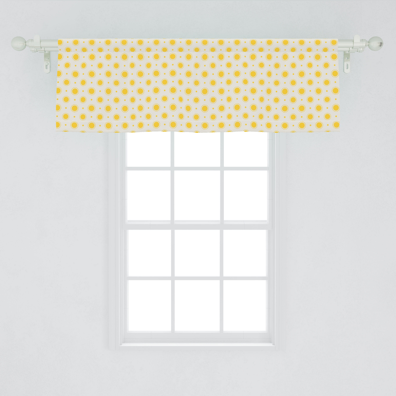 Red White Polka Dot Mickey Minnie Mouse Kitchen Fabric Curtain Topper Valance Handmade Products Spearhead Home Decor