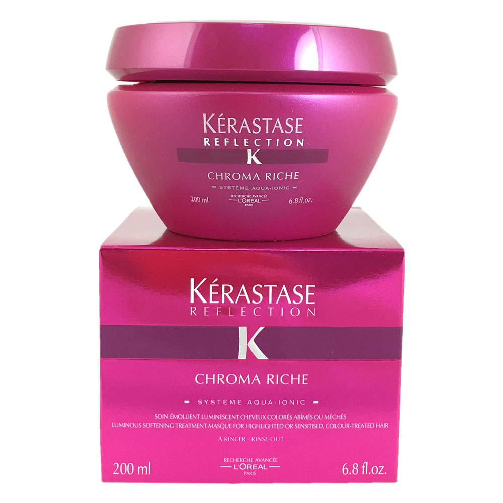 Kerastase Reflection Chroma Riche-Masque For Highlighted Or Sensitised Colour Hair 6.8Oz