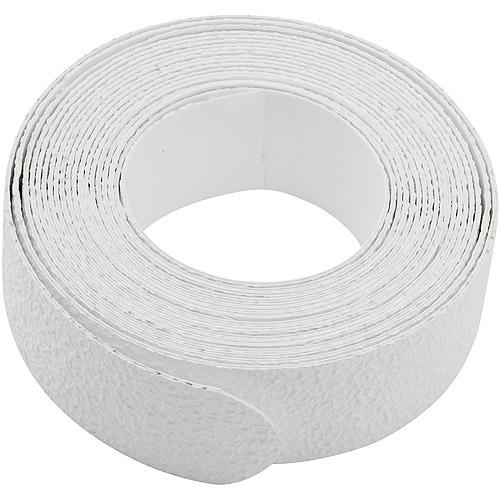 Peerless 6pc No-Slip Tread Strips, White