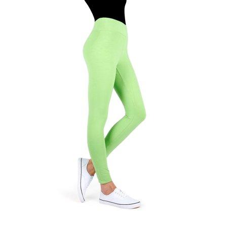 56b249dc8ece12 MeMoi - MeMoi Cotton-Blend Yoga Pants | Women's Sports & Athletic Leggings  Small/Medium / Jade Lime MQ 006 - Walmart.com