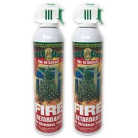 2 CANS TREE SHIELD FIRE RETARDANT SPRAY FOR CHRISTMAS TREES BRAND NEW FREE SHIP