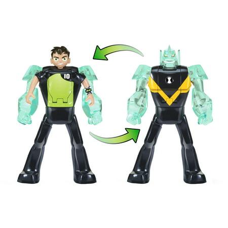Ben 10 Ben-to-Diamondhead Transforming Figure Ben 10 Toys Omnitrix
