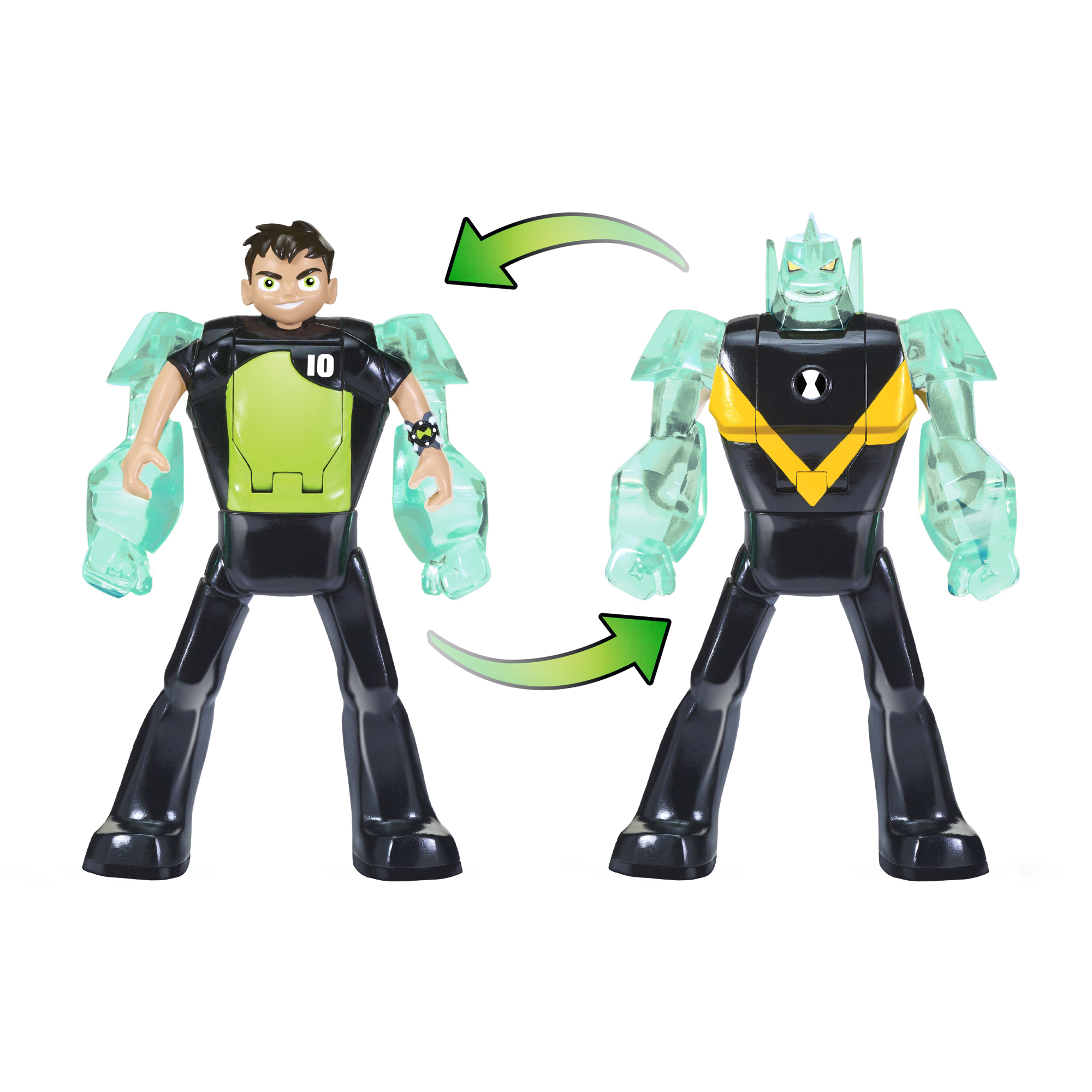 Ben 10 Ben-to-Diamondhead Transforming Figure