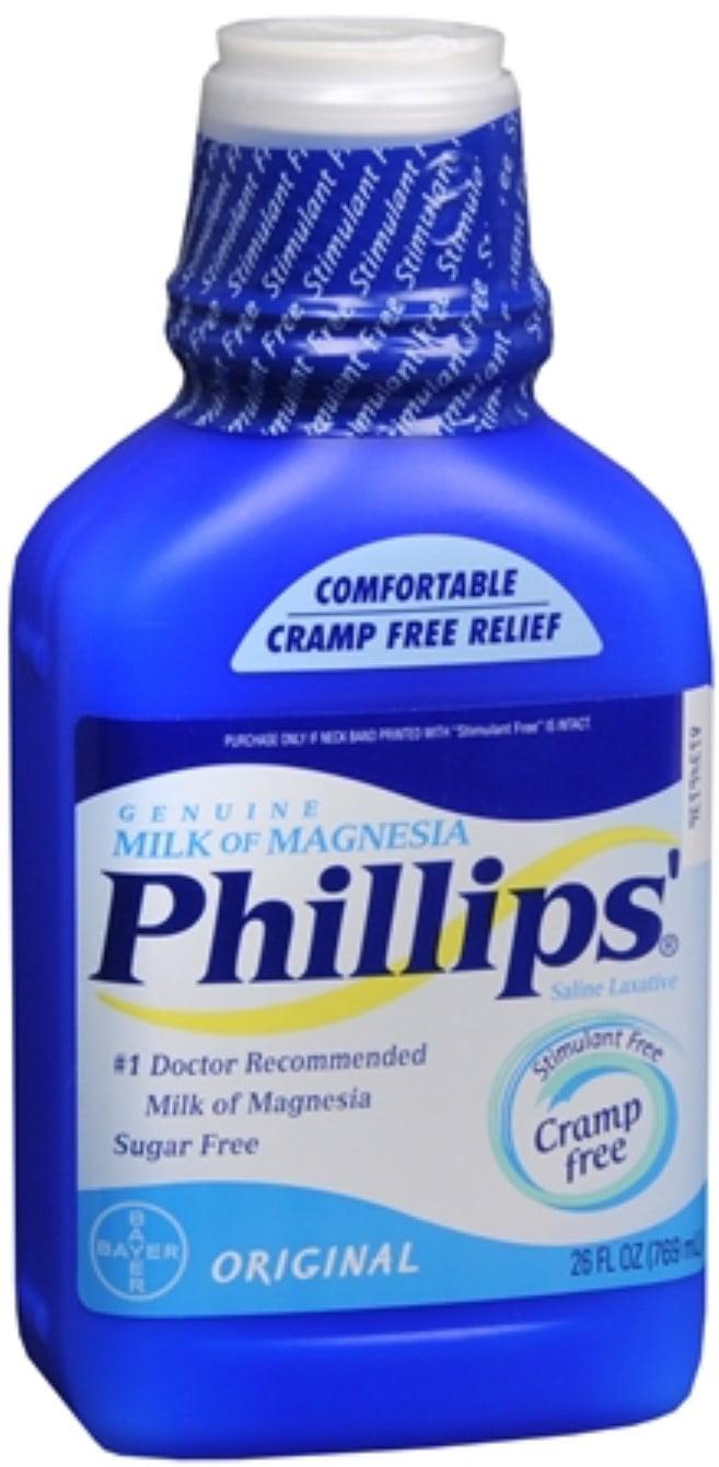 Phillips Milk of Magnesia Original 26 oz - Walmart.com
