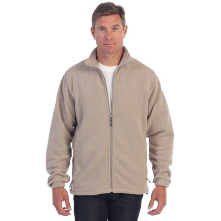 Gioberti Mens Full Zip Polar Fleece - Polartec Polar Fleece