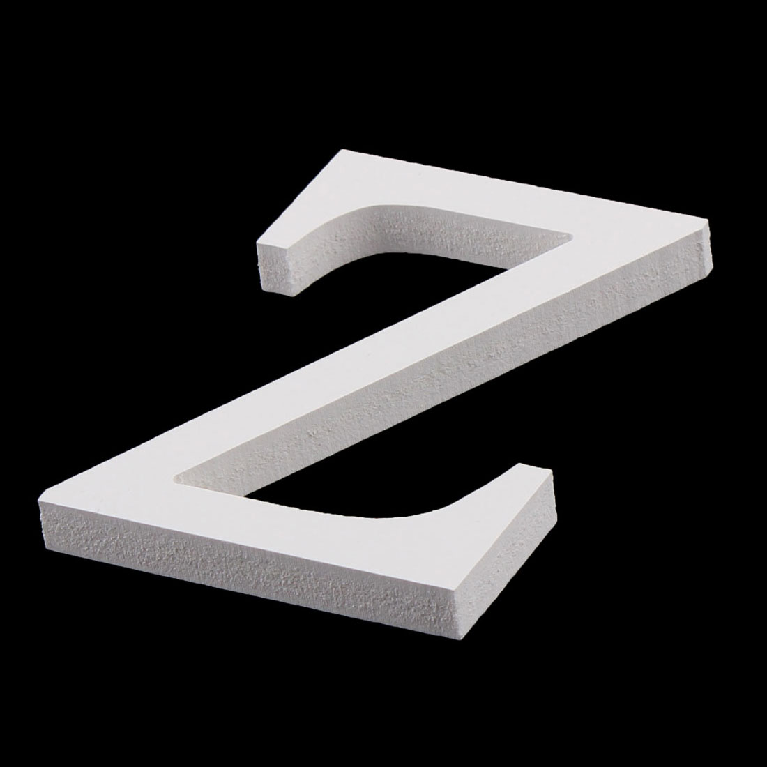 Wedding Party Home Plywood Decoration English Z Letter Alphabet DIY Wall White - image 1 of 3