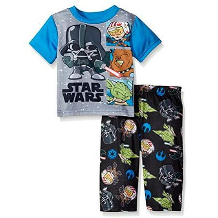 Toddler Boys Star Wars Vader Battles Pajamas (3T) - Star Wars Toddler