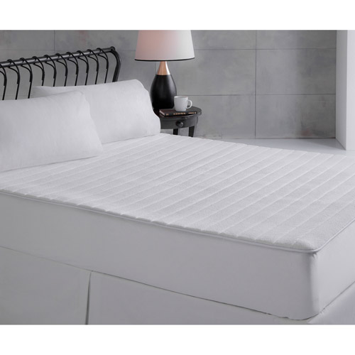 Ultrasoft Plush Memory Foam Mattress Pad, White