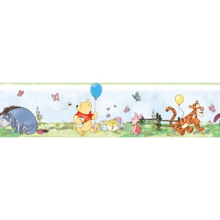 Wallhogs Disney Winnie the Pooh Room Border Wall Mural